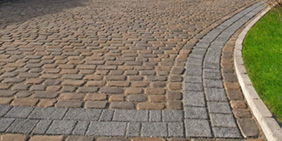 Cobble driveways
