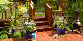 Decking and composite decking